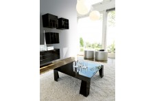 Double coffee table by Unico Italia