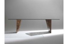 Riddled Table dining table by Horm